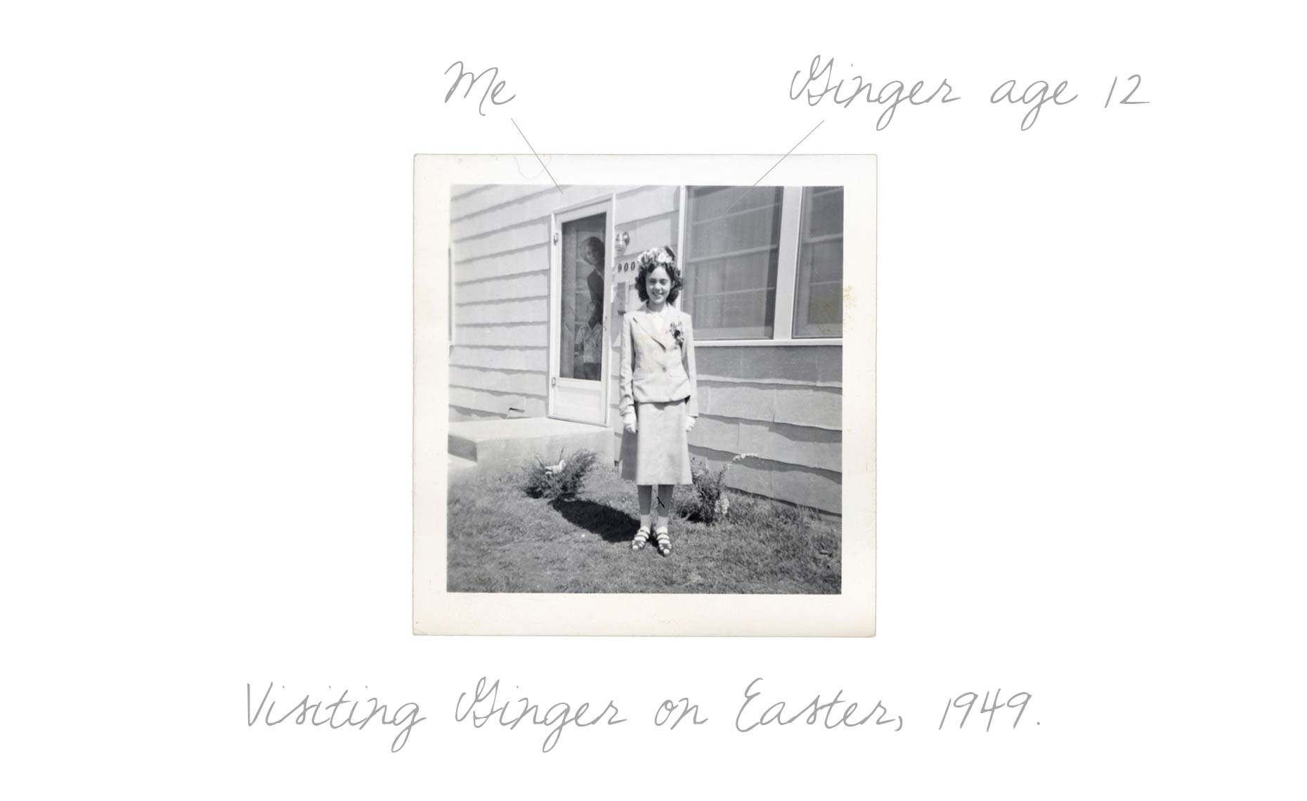 Visiting Ginger Easter 1949 txt