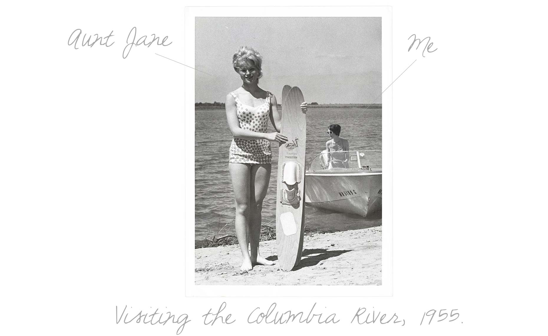 Visiting Jane Columbia River 1955 txt