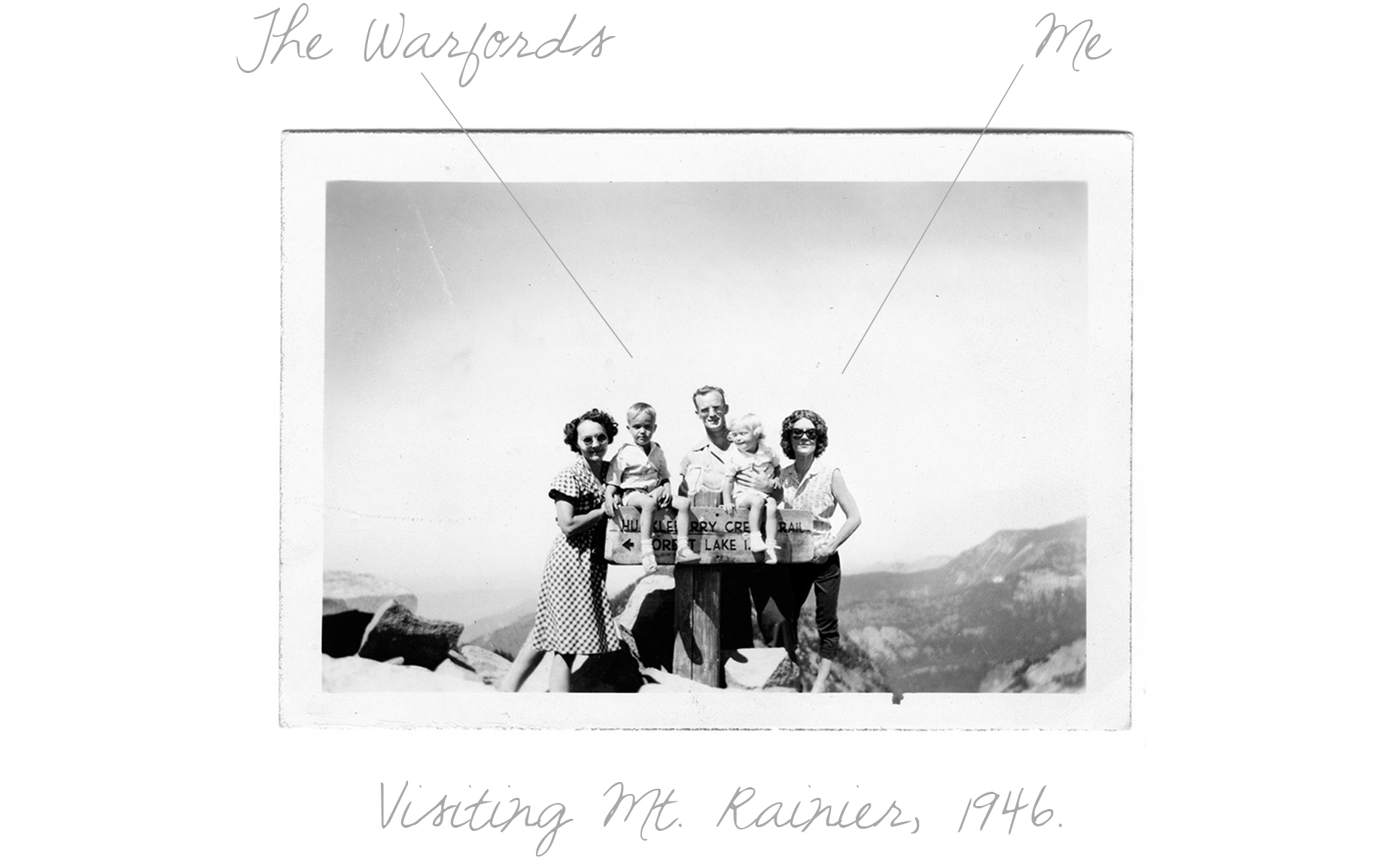 Visiting Mt. Rainier 1946 TXT