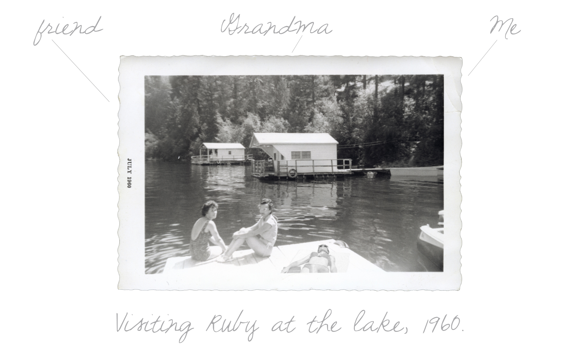 Visiting Ruby at the Lake 1960 TXT
