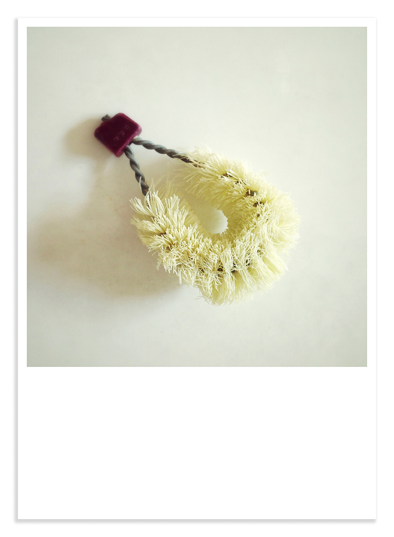 Treasures #02 potato scrubby