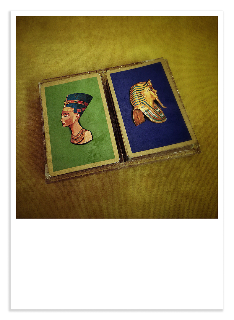 Treasures #19 king tut playing cards