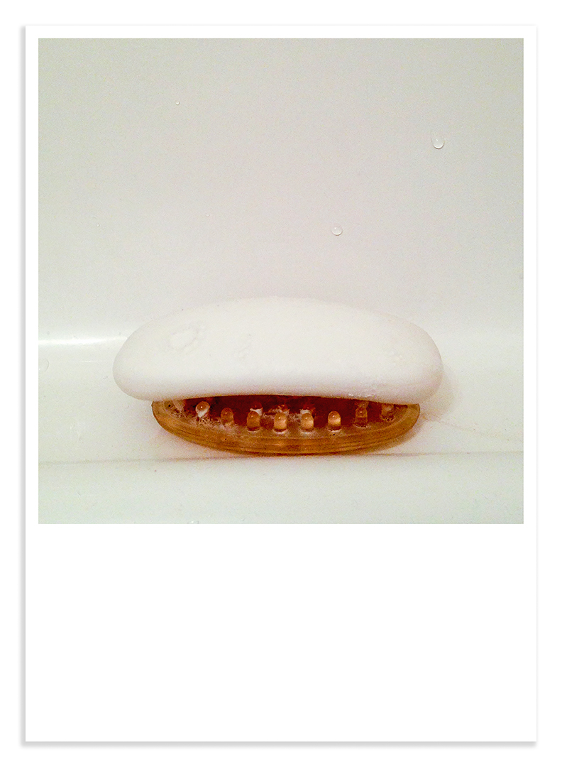 Treasures #25 plastic soap dish
