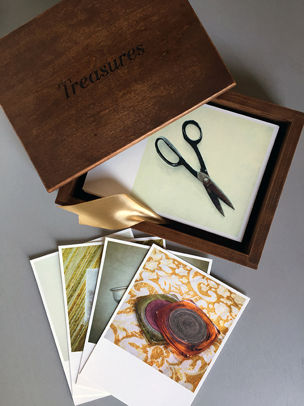 Treasures wood box