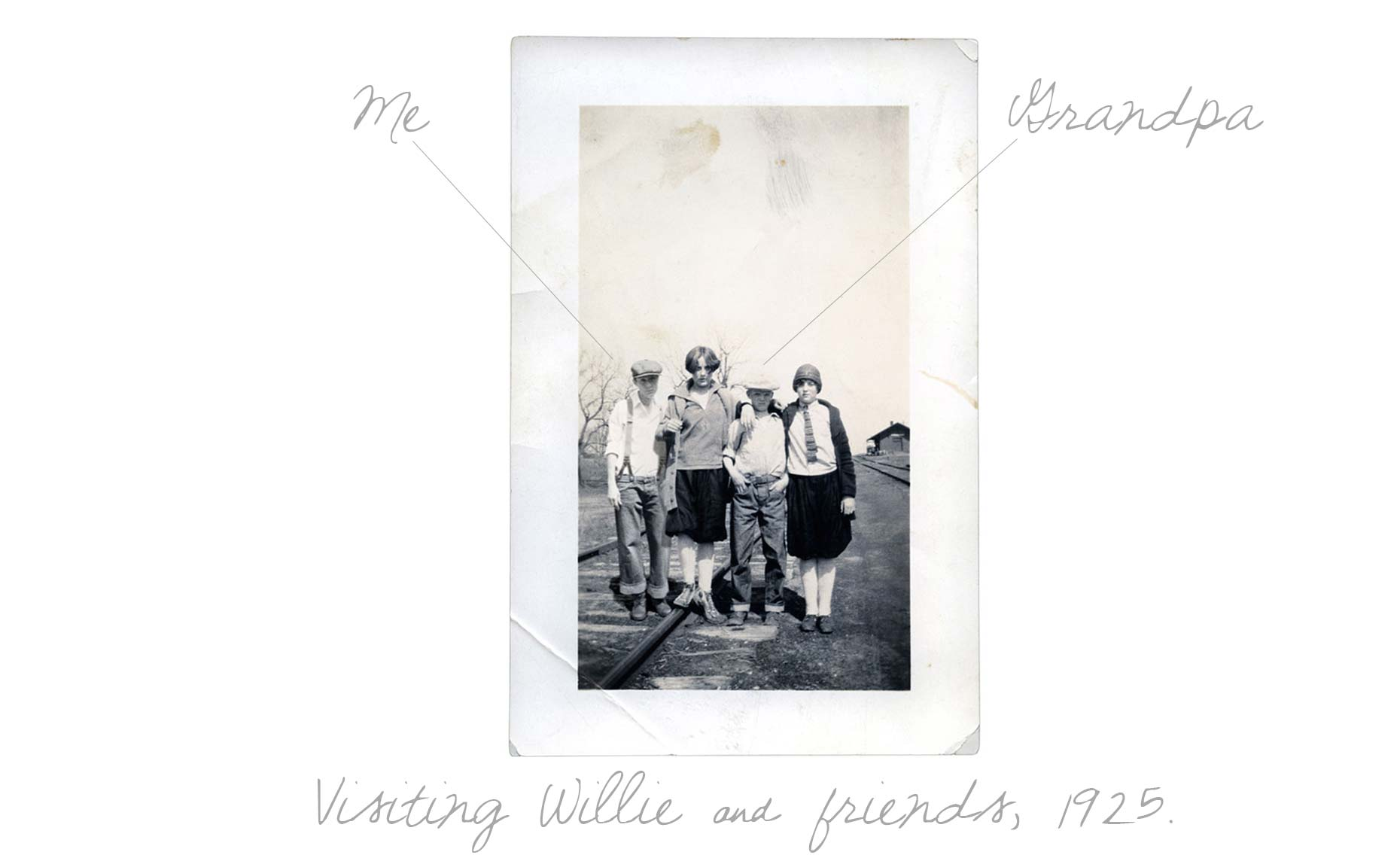 Visiting Willie on the Tracks 1925 txt