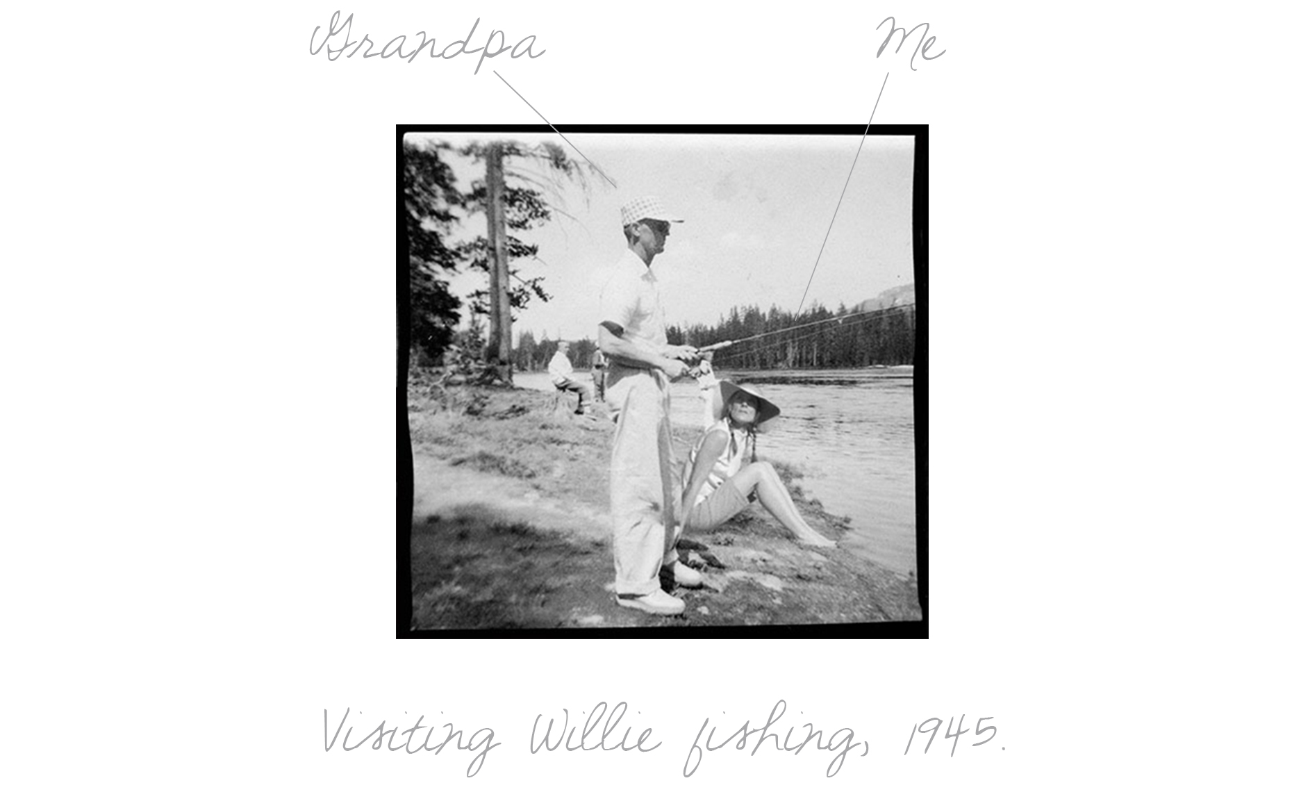 Visiting Willie Fishing 1945 TXT
